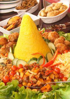 Indonesian Food Padang Feast