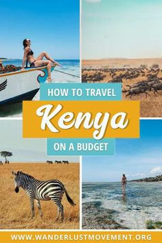 Kenya is one of the best destinations in Africa for budget travellers. You can eat your weight in avocados for less than a dollars, rent out entire apartments for $21 and book a private half-day snorkelling tour in Watamu Marine National Park for $50! Here's how to travel Kenya on a budget. | Kenya Travel Tips | Africa Travel Tips | Budget Travel Destinations | Budget Travel Tips|