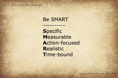 Day 8 Starting Well Challenge: Make Your Goals SMART | Simply in the Suburbs