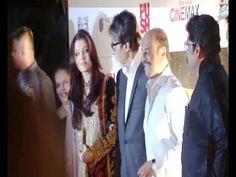 Amitabh Bachchan Aishwarya Rai @ Red carpet of KOCHADAIYAAN - THE LEGEND