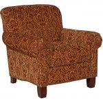 $691.99  Broyhill - Emery Accent Chair with Cherry Stain Legs - 015296-0Q