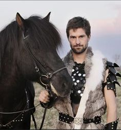 Gudmar Petursson Icelandic Horses and the Knights of Iceland. Oh so amazing. And so his farm.