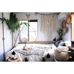 swaro109さんの、Bedroom,インダストリアル,ボヘミアン,リノベーション,男前インテリア,アメブロやってます♪,BOHO,ヤシ,ネットショップ絶賛営業中,空間デザイン,Swaro109 vintage,ウィービング,インダストリアルモダン,インダストリアルモダンアーキテクチャについての部屋写真