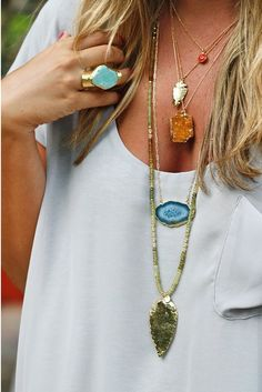 Such cute necklaces!!