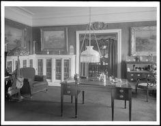 175 West 72nd Street. Van Dyck Apartments, A.B. Gwathmey [Jr.?] apartment, interior looking toward dining room.