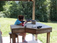 Shooting targets!
