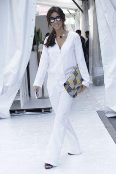 luiza sobral look do dia milan fashion week