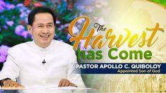 'The Harvest Has Come' by Pastor Apollo C. Spiritual Words, Spiritual Enlightenment, Spirituality, Kingdom Of Heaven, Heaven On Earth, Cinematic Trailer, World Need, Son Of God, Apollo