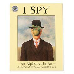I+Spy+-+An+Alphabet+in+Art