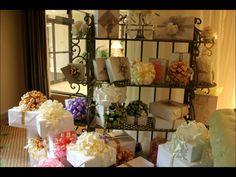 Beautiful Wedding Shower & Stunning Gift Wrap