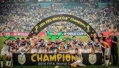 Germany victory World Cup 2014