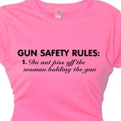 Gun+hobby+T+Shirt+Gun+Training+Apparel+Women's+by+FlirtyDivaTees,+$24.95