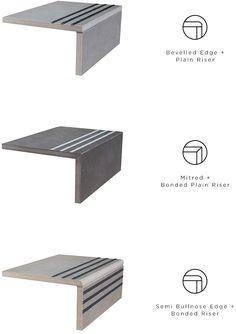 Domus Stairs Tiles Design, Staircase Design Modern, Home Stairs Design, Railing Design, Floor Design, Tiled Staircase, Interior Staircase, Staircase Railings, Granite Stairs