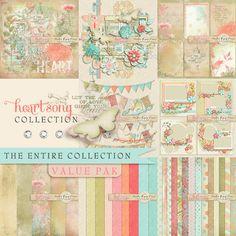 Scrapbookgraphics.com :: Kits :: Heartsong {Artist Kit}