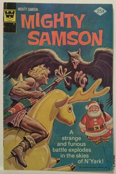 Vintage Comic Covers / Mighty Samson