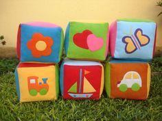 Cubos Didácticos-sonajeros-bebés-sala Blanda-20 Cm - $ 61,00 en ...