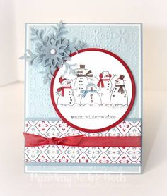 CCC11, warm winter wishes... by bigsky - Cards and Paper Crafts at Splitcoaststampers