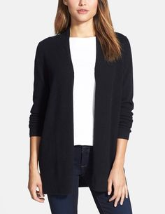 Swooning over this cashmere cardigan. So soft, warm and versatile! Can't wait to accessorize this closet staple.