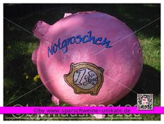Sparschwein XXL Notgroschen Geldgeschenk Hochzeit Geburtstag Briefbox Partykasse
