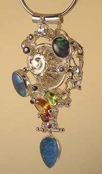 Gregory Pyra Piro slider pendant