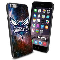 """Charlotte Hornets Logo Galaxy iPhone 6 4.7"""" Case Cover Protector for iPhone 6 TPU Rubber Case SHUMMA http://www.amazon.com/dp/B00VQI16H6/ref=cm_sw_r_pi_dp_BUYovb0M26282"""