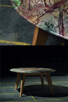 Jeder Tisch ist ein absolutes Unikat. Ob Dinigtable oder Sidetable jeder Tisch hat eine ganz eigene Ausstrahlung. Die Kooperation von stone4you und lückenfüller.design wollen genau diesem Anspruch gerecht werden. Der Stein im Mittelpunkt des Entwurfs. Der Tisch besteht aus einer 2cm Dicken Natursteinplatte, die mit einem speziellen Abgeplatteten Schliff abgeplattet ist. Steinmetz, Table, Furniture, Design, Home Decor, Marble Dining Tables, Natural Stones, Timber Wood, Decoration Home