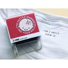 Personalized Clothing Stamp