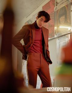 StyleKorea — Nam Joo Hyuk for Cosmopolitan Korea December Korean Men, Asian Men, Asian Actors, Korean Actors, Nam Joo Hyuk Cute, Nam Joo Hyuk Lee Sung Kyung, Ji Soo Nam Joo Hyuk, Jong Hyuk, Joon Hyung