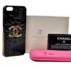 New Arrival Real Chanel Camellia iPhone 6 Cases - iPhone 6 Plus Cases - s Black - Free Shipping - Chanel & Louis Vuitton Authorized Store