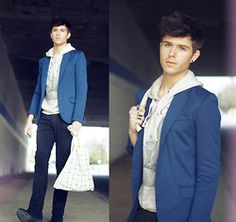 Something bout a blazer makes a man look sharp ;)