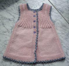 Жилеточка-платьице - Вязание для детей - Страна Мам