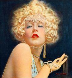Mae Murray - The original platinum blonde bombshell.