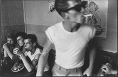 New York photographer Bruce Davidson documented a gang of troubled Brooklyn teenagers in 1959 that called themselves the Jokers. Check the album out here. http://www.retronaut.co/2010/06/the-jokers-1959/