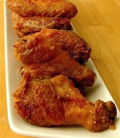 Clifton Springs Chicken Wings – Oven-Fried with Sticky Ginger Garlic Glaze