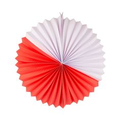 My Little Day Red/White Paper Lantern - diameter Red Party, Party Kit, Party Bags, White Paper Lanterns, Red Lantern, Pavement Chalk Art, Honeycomb Decorations, Honeycomb Paper, Little Red