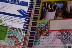 Pages from my Junk Journals and Art Journals  blogged @ www.ravenscauldron.blogspot.com