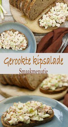 Gerookte kipsalade #recept #kip #salade