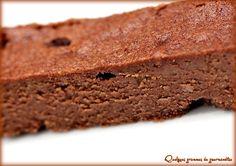 Fondant chocolat et crème de marrons part