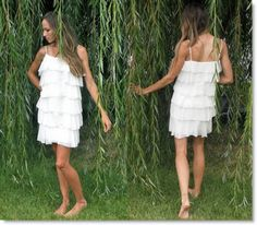 DIY Butterfly Twist Tee Flapper Style Dress tutorials