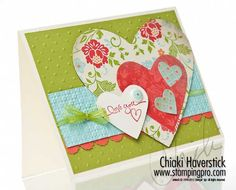 Love this card - using the new hearts  edgelits dies