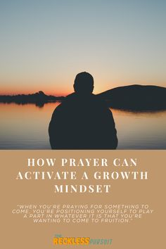It's no secret that prayer is a mindset. But what exactly happens when we have an active prayer life?  Well, for starters, it helps us focus on our environment. When we press into prayer, we become more aware of our surroundings.  #prayer #growthmindset