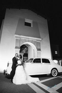 Wedding send off - Mission San Luis - Tallahassee Weddings - MissionSanLuis.org - Allen Adams Photography