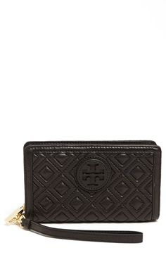 Tory Burch 'Marion' Smartphone Wristlet available at #Nordstrom