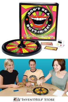 Don't Be a Butt-In-Ski™ is a party game that encourages people to share humorous or interesting stories. An entertaining board game that helps break the ice and enables people to learn new things about each other. Purchase at inventhelpstore.com.