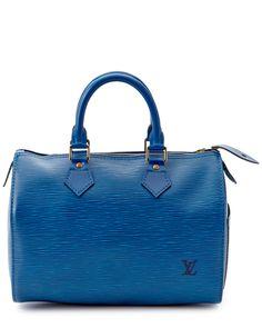 Louis Vuitton Toledo Blue Epi Leather Speedy 25 is on Rue. Shop it now.