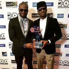 Peter Okoye and Paul Okoye of P-Square music group have finally split and gone onto their separate ways.
