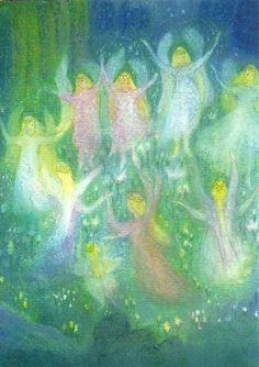 09. Nadat de engel vertelt had dat Jezus was geboren verschenen er nog veel meer engelen in het veld. Ze zongen tegelijk ' ere zij God in de hoge'.