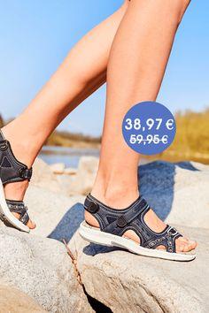 Talsohle Preis Details für wie kauft man Rieker Damen Sandalette braun V2962-25 | Rieker Outlet in ...