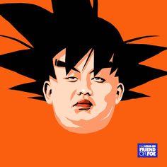 Friend Or Foe, un nouveau projet de l'illustrateur brésilien Butcher Billy, qui détourne cette fois-ci le portrait du leader nord-coréen Kim Jong-Un dans une série décalée, inspirée par les plus grands et célèbres héros et vilains de la Pop Culture.