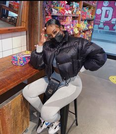 Lit Outfits, Baddie Outfits Casual, Cute Swag Outfits, Chill Outfits, Tomboy Fashion, Streetwear Fashion, Girl Fashion, Fashion Outfits, Urban Fashion